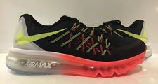 Nike Air Max 2015 (GS) 705457-005 Black/Lava/Volt/White Sz 6.5Y (or Women's 8)