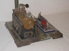 VINTAGE GROSSE DAMPFMASCHINE - TINTOY STEAM ENGINE