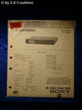 Sony Service Manual ST S222ES Tuner  (#0620)