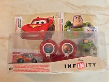 DISNEY INFINITY BUNDLE SET TOYS R US TRU EXCLUSIVE CRYSTAL CLEAR LIGHTNING BUZZ