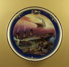 Titanic: Queen Of The Ocean HOPE SURVIVES Plate #14 MIB + COA James Griffin