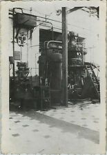 PHOTO ANCIENNE - VINTAGE SNAPSHOT -CURIOSITÉ USINE MACHINE AIR LIQUIDE INDUSTRIE