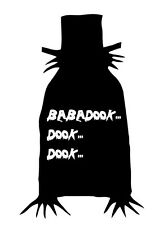 The Babadook movie Horror monster dvd cult vinyl decal sticker laptop car cell