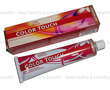 3x Wella Color Touch semi-permanent creme Hair Colour 60 ml FREE registered post