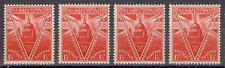 New zealand 1946 Sc# 249  St Pauls Cathedral London 4 stamps MNH