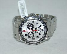 VICTORINOX Swiss Army Chrono Classic XLS 241445 Watch NEW 45mm Silver