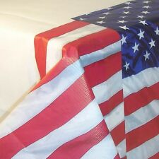 USA FLYING COLOURS STARS & STRIPES 4TH JULY PARTY TABLECOVER BIRTHDAY PARTIES!