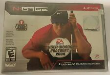 NEW FACTORY SEALED TIGER WOODS PGA TOUR 2004 GAME FOR NOKIA N-GAGE NGAGE N GAGE