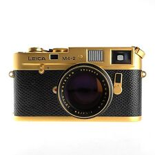 Leica M4-2 Oskar Barnak 100 Year Anniversary Edition, with 50mm f1.4 Lens, boxed