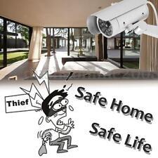 LED Factice Fausse Simulation Dummy Caméra CCTV Surveillance Sécurité Extérieur