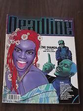 DEADLINE #44 SEPTEMBER 1992 TANK GIRL SHAMEN STEREO MC'S BRITISH MONTHLY COMIC^