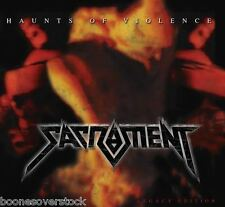 SACRAMENT - HAUNTS OF VIOLENCE (*NEW-CD, 2014, Retroactive) Christian Thrash!!!