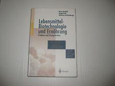 Lebensmittel-Biotechnologie und Ernährung von Andreas Leuchtenberger, Heinz...