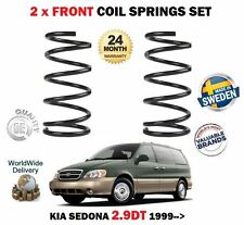 FOR KIA SEDONA 2.9TD UP751 J3 1999-2006 NEW 2X FRONT LEFT RIGHT COIL SPRINGS SET