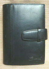 BLACK LEATHER Unisex WALLET by SUMDEX