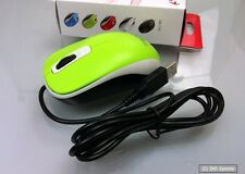 GENIUS dx-110 Scroll-Rad, cavo USB mouse, mouse, PC/Mac, ottico, VERDE GREEN NUOVO