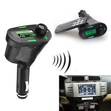 Kit Voiture MP3 Letceur Sans Fil FM Transmetteur LCD USB SD MMC + Télécommande