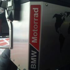 BMW MOTORCYCLE R1200GS/GSA/F800GS MOTORRAD L/R.PANNIERS/CASES DECAL/STICKERS.!!!
