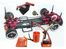 Alloy & Carbon 1/10 SAKURA D3 Drift Racing Frame Kit & SKYRC LEOPARD 60A Combo