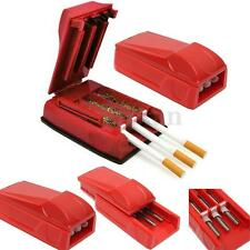 Manual Triple Tobacco Cigarette Tube Injector Roller Maker Rolling Machine Tubes
