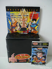 Carte Dragon Ball Z / Hero Collection part 3 / Boite ( vide ) + 1 Booster [Neuf]