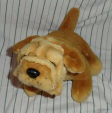 Novelty Toy Puppies For Sale Dog Sharpei Shar Pei Puppy Stuffed Plush Brown Toy