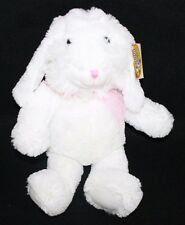 White Lop Ear Bunny Plush Stuffed Animal  super soft Cuddly 18""