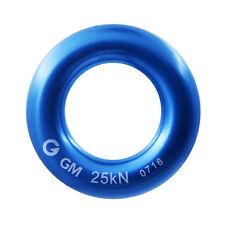 New Blue Rappel Ring Rigging Plate for Rock Climbing Arborist Hammock 25kN