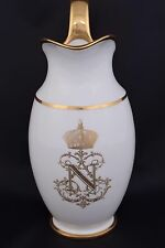 1843 Sevres Chateau de Pau Louis Philippe I French Pitcher