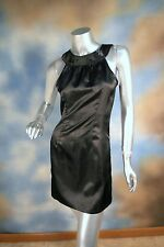 NEW GUESS JEANS high neck satin mini clubbing cocktail party dress SZ: S