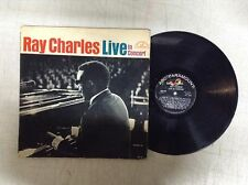 Ray Charles Live In Concert ABC-500  Vinyl Record LP R30