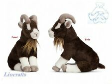 Sitting Brown Goat Plush Soft Toy by Living Nature.20cm AN408