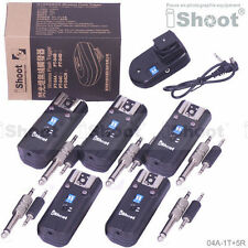 Studio/Speedlite Remote Control Wireless Radio Flash Trigger PT-04 f Canon Nikon
