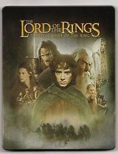 BLU-RAY STEELBOOK LORD OF THE RINGS FELLOWSHIP OF RING LE EXCLUSIVE NEW/SEA