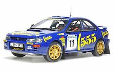 Sunstar 5504 Subaru Impreza 555 Diecast Rally coche Richard Burns Nueva Zelanda 1994 1:18 Th