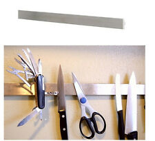 "IKEA 16"" magnetic knife rack stainless steel scissors tools holder bar GRUNDTAL"
