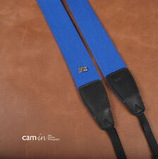 Royal Blue Adjustable Non-slip DSLR Camera Strap by Cam-in