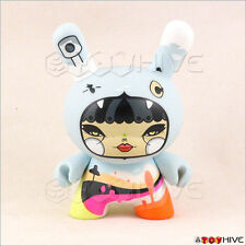 Kidrobot Dunny Ye Olde English Hicalorie vinyl figure by Julie West 3-inch