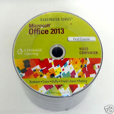 Microsoft Office 2013 Illusterated Course Video DVD training by Cengage Learning