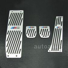 M Tech Aluminum Foot Rest Pedals Set For BMW E30 E36 E46 E87 E90 E91 E92 E93 M3