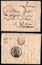Lettre Préphilatélique : CACHET 11 de ARDES (62), de 1840 / Lot France