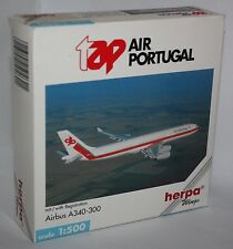 Herpa Wings-tap air portugal-airbus a340-300-m/w reg. - scale 1:500 - modelo #504621