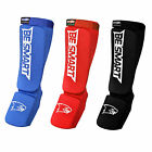 BS Shin Instep Pads MMA Leg Foot Guards Muay Thai Kick Boxing Guard Protector