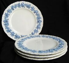 Wedgwood LAVENDER ON CREAM SHELL EDGE 2 Dinner Plates great condition