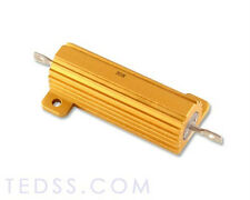New 6 Pc. of 5 Ohms 50W Aluminum Housed Wirewound Power Resistor