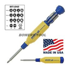 Megapro Stainless Steel 15 in 1 Multi Bit Screwdriver Phillips Flat Torx Square