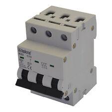 Sicherungsautomat Leitungsschutzschalter MCB 16A Typ C 3-polig 6KA 1 Stück