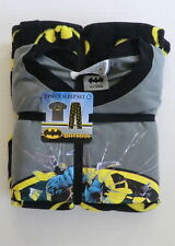 batman Pajamas Mens Medium sleep pajama set new fleece lounge pants shirt