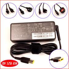 Genuine OEM For Lenovo IBM ADLX65NCC3A ADLX65NLC2A 20V 3.25A 65W AC Adapter Cord