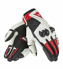 Dainese Handschuhe Gr. XL Mig C2  schw/weiß/rot  Motorradhandschuhe NEU